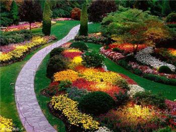عكس ها و تصاوير مناظر و طبيعت: زيباترين باغ دنيا