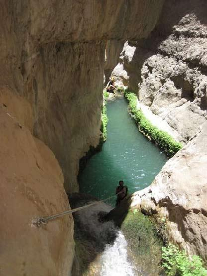تصاوير ديدني آبشار زیبای تنگه رغز داراب استان فارس